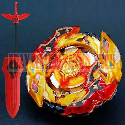 Beyblade B-128 01 CHO Z SPRIGGAN BURST Super Z+Fire Angel Sword LR Launcher B-96