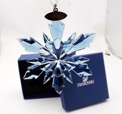 2018 Hot Sale Swarovski Crystal Snowflake large CHRISTMAS ORNAMENT Frozen
