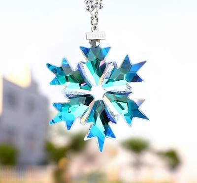 New 2018 Hot Sale Swarovski Crystal Blue ANNUAL LARGE CHRISTMAS ORNAMENT