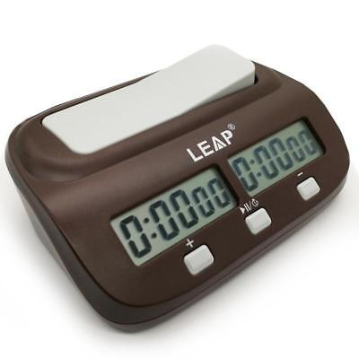 LEAP Digital LED Game Chess Clock I-go Count Up Down Timer Game Competition
