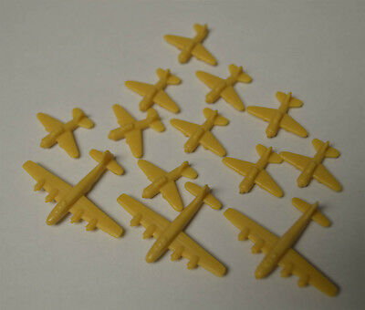 AXIS & ALLIES Board Game 1984-87 Replacement Aircraft Japan 13 Pieces !