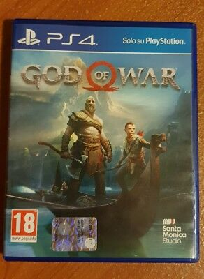 God Of War Ps4 Videogioco Italiano Sony Playstation 4 Gioco Pal Nuovo Sigillato