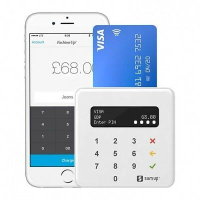 SumUp Air Card Payment Reader Contactless Chip & Pin *No Contract* BRAND NEW