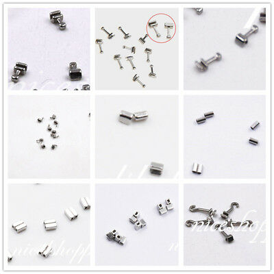 Dental Orthodontic Crimpable Hooks Sliding/Spiral Cross/Double Tube Stops Choose