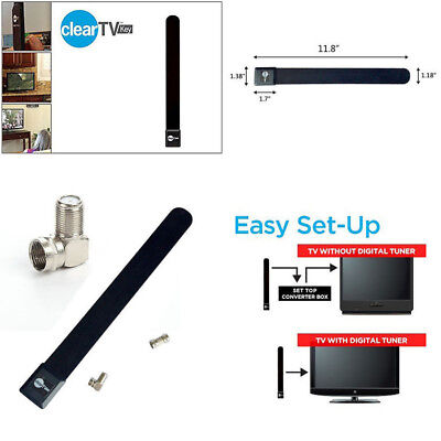 TOP Clear TV Key HDTV FREE TV Digital Indoor Antenna Ditch Cable Home OB#@