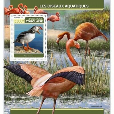 Z08 TG17307b Togo 2017 Water Birds MNH Mint