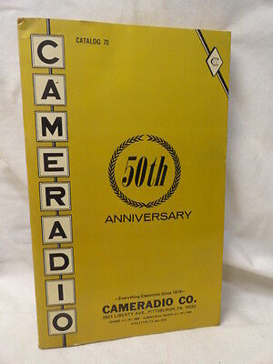 Pittsburgh PA Cameradio 1969 50th Anniversary Catalog Electronic Price Guide