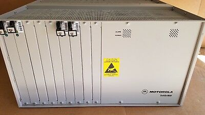 MOTOROLA ZHONE TECH. TeNSr/800 Repeater Channel Bank IMACS/800 with Cards