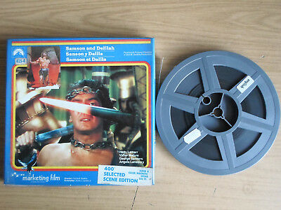 Super 8mm 1X400 SAMSON AND DELILAH. Victor Mature epic classic.