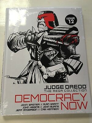 2000AD Judge Dredd The Mega Collection Democracy Now Issue #12 Spine #02 Sealed