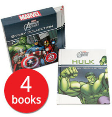 Marvel Avengers Assemble Story Collection - 4 Books