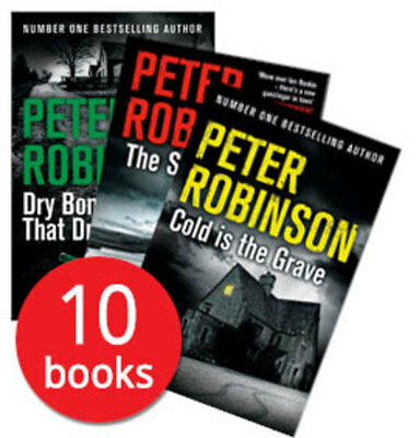 Peter Robinson Collection - 10 Books