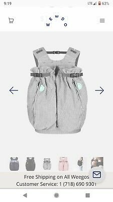 Weego Twin Baby Carrier Blue Pepita Twin 125 00 Picclick