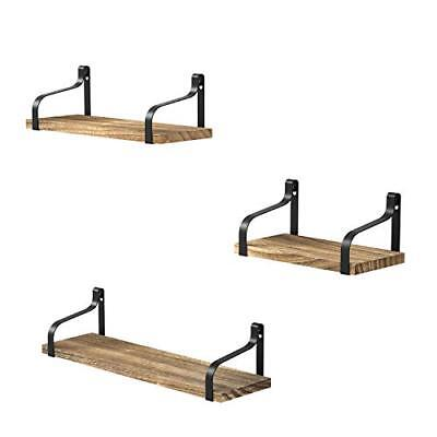 Love-KANKEI Floating Shelves Set of 3  Assorted Colors