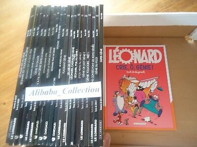 LOT 22 BD LEONARD GENIE GROOT TURK LE LOMBARD ALBUM dont EO no complet integrale