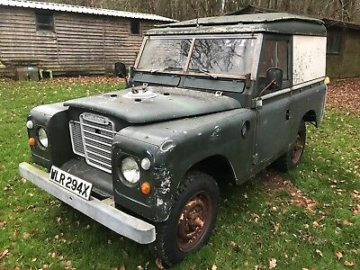 Land Rover Series 3 III 2.25 Diesel restoration project, complete and original