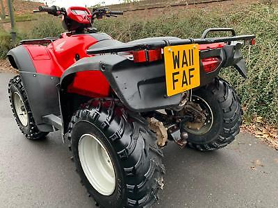 Honda Trx 500 Foreman Farm Quad Road Legal Atv Grizzly 420 350 680 700