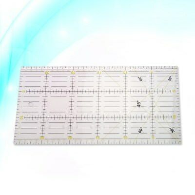 Patchwork Ruler Rectangle Quilting Acrylic Craft Scale for Sewing Craft Quilting