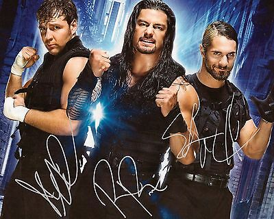 THE SHIELD (Reigns, Rollins & Ambrose) #2 (WWE) - 10x8 PRE PRINTED LAB PHOTO
