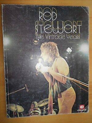 Sheet Music ROD STEWART - The Vintage Years - 1979 - 96 pages.