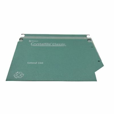 Rexel Crystalfile Classic 30mm Lateral File 500 Sheet  (Pack of 25) [TW70672]