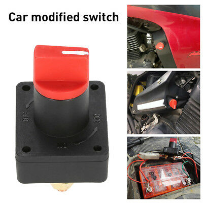 100A Battery Isolator Disconnect Power Cut Off Kill Switch Boat Car Boat Truck