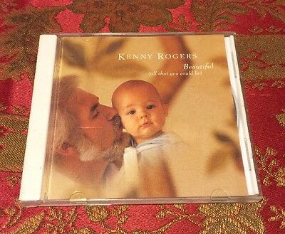 """RARE Collectible Kenny Rogers """"Beautiful"""" All that You Could Be Promotional CD"""
