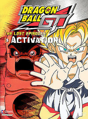 Dragon Ball GT: The Lost Episodes - Vol. 5: Activation (DVD, 2005, Region 1/2/4)