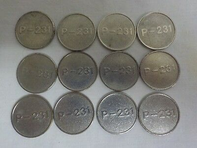 coins tokens P-231 X12