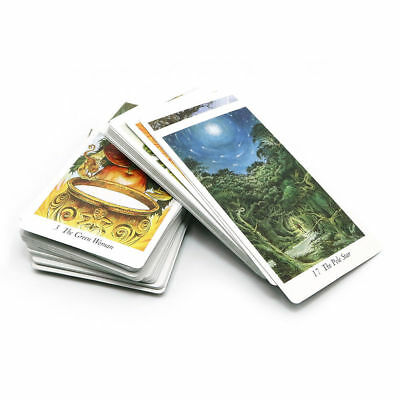Nature 78 Tarot Cards Deck Full English Animal Playing Board Game