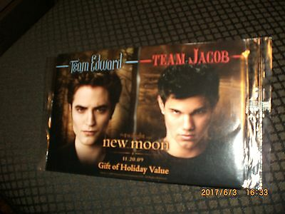 Twilight Saga-New Moon Burger King Collectible, 11-20-2009, Never Opened, MINT.