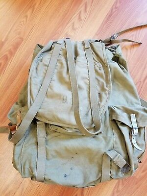 WWII  US Army Mountain Troop Back Pack/Rucksack with Frame WW2 1943 & all straps