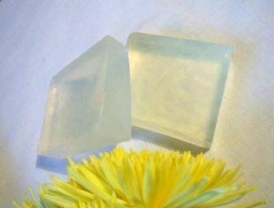 Melt & Pour Soap Base Clear Organic/ Neutral pH Free Shipping