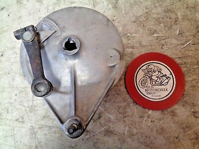 1978 Kawasaki Kz400 C-1 Rear Wheel Brake Plate Drum Hub