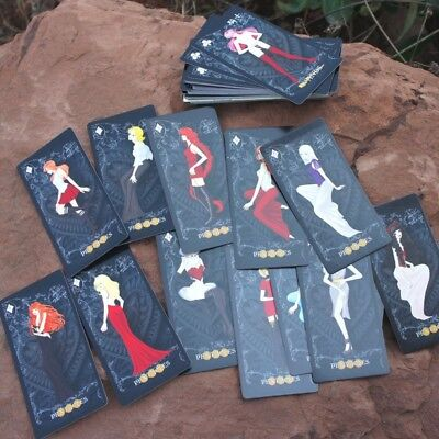 Classic Divination Mini Love Chinese/English Tarot Cards Creative Board Games