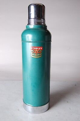 Vintage Stanley Super Vac Stainless Steel Lined Thermos USA A945 Mfg Date 10/56