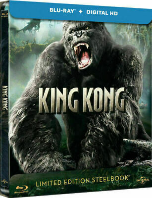King Kong - Limited Edition Steelbook [Blu-ray] New and Sealed!!