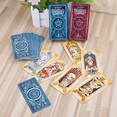 New 78 Rider Tarot Cards Deck With Colorful Box Mysterious Divination Board Game