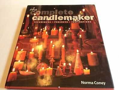 The Complete Candlemaker Techniques / Projects Norma Coney HARDBACK