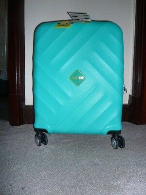 American Tourister, 4 Wheels Spinner, Turquoise, 55/20, 33L. Brand new with tag