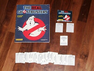 The Real Ghostbusters Panini 1988 Sticker Album, Complete Panini Sticker Album