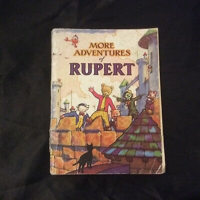 Rupert Annual 1942 Very Rare Good Condition