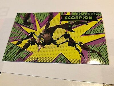 SPIDER-MAN INTO THE SPIDER-VERSE amc theaters trading card SCORPION