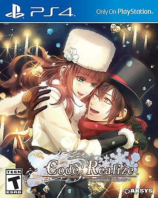 Code: Realize Wintertide Miracles - PlayStation 4* PREORDER* SHIPS ON 2/15/2018*