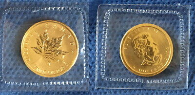 2009 As Shown .9999 Canada Gold 1/10 Oz Maple Leaf-Great Bullion Coin For Price