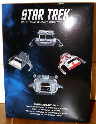 Eaglemoss Star Trek Starships - Shuttlecraft Set 4