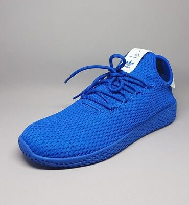 cheap for discount 4f209 a71d0 CP9766 Adidas Pharrell Williams Tennis Hu Blue Size 7US Men Sneakers Shoes