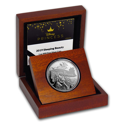 1 OZ Space Pioneers New Zealand 2019 Silver $1 Proof Coin
