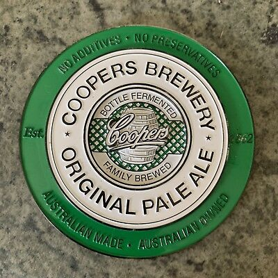 Coopers Pale Ale Beer Tap Badge, Top, Decal