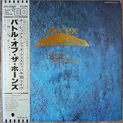 "1980""NM Wax"" Various Aurex Jazz Festival '80 Battle Of The Horns EWJ-80189 Japan"